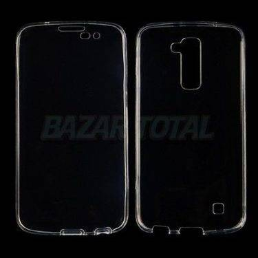 PARA LG K10 (2016) CARCASA FUNDA DOBLE DE GEL TPU CON PROTECCION TOTAL 360º 1