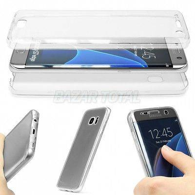 PARA SAMSUNG GALAXY S7 EDGE FUNDA DOBLE DE GEL TPU CON 360º DE PROTECCION TOTAL 1