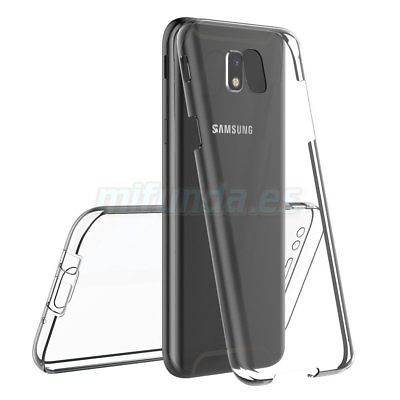 PARA SAMSUNG GALAXY J7 J730F (2017) FUNDA DE GEL TPU DOBLE 360º PROTECCION TOTAL 1