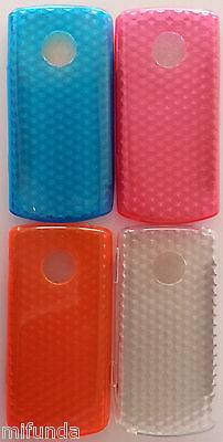 "FUNDA CARCASA DE GEL TPU DISEÑO ""DIAMANTES"" PARA LG OPTIMUS 7 E900 TPU GEL CASE 1"