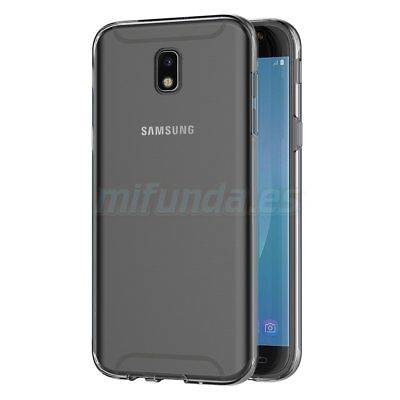 PARA SAMSUNG GALAXY J7 J730F (2017) FUNDA DE GEL TPU DOBLE 360º PROTECCION TOTAL 3