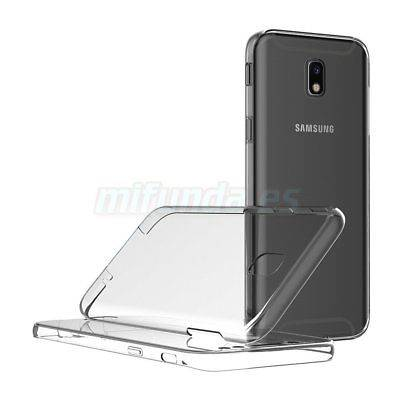PARA SAMSUNG GALAXY J7 J730F (2017) FUNDA DE GEL TPU DOBLE 360º PROTECCION TOTAL 2