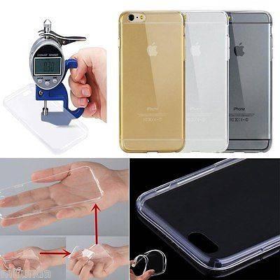 """PARA IPHONE 7 4,7"""" FUNDA CARCASA DE TPU TRANSPARENTE ULTRA THIN 0,3 mm. TPU CASE 2"""