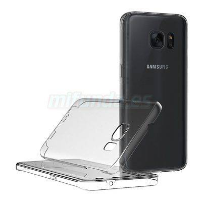 PARA SAMSUNG GALAXY S7 EDGE FUNDA DOBLE DE GEL TPU CON 360º DE PROTECCION TOTAL 2