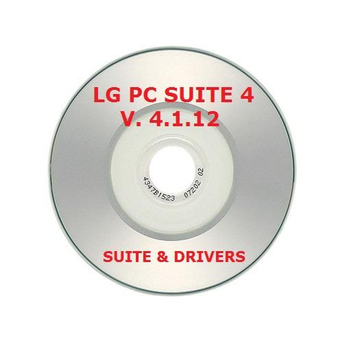 ✅LG PC SUITE 4 V 4.1.12 BUNDLE CD CON DRIVERS Y SUITE COMPLETA ACTUALIZABLE 1