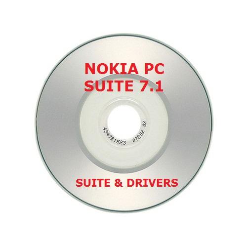 ✅NOKIA PC SUITE 7 VERSION 7.1 MINI CD CON DRIVERS Y SUITE COMPLETA 1