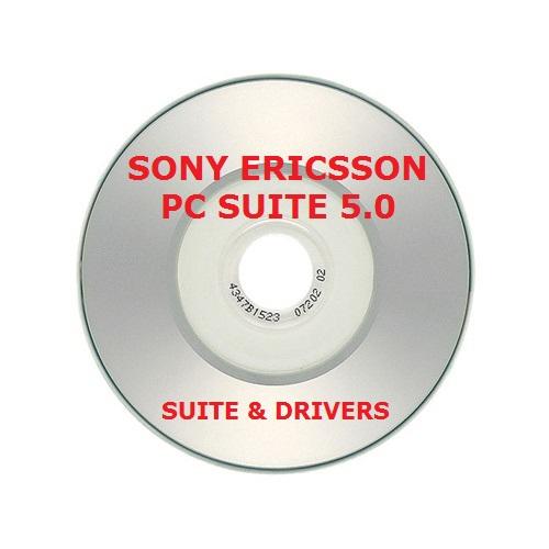 ✅SONY ERICSSON PC SUITE 5.0 V 5.009 CD CON DRIVERS Y SUITE COMPLETA ACTUALIZABLE 1