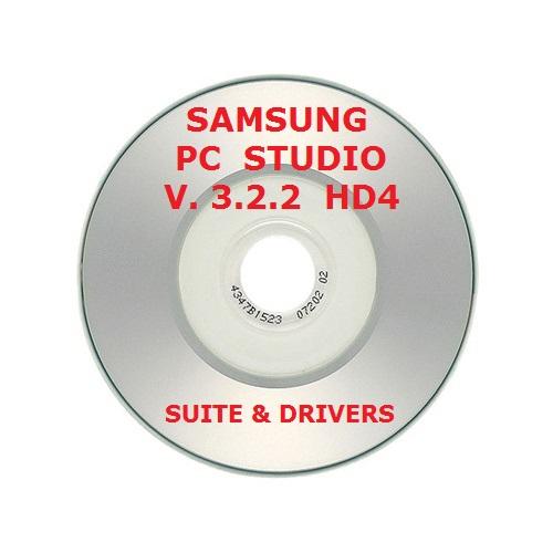 ✅SAMSUNG PC STUDIO 3 V 3.2.2 SUITE CD CON DRIVERS Y SUITE COMPLETA ACTUALIZABLE 1