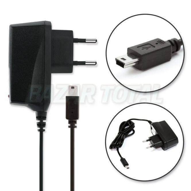 ✅CARGADOR DE PARED UNIVERSAL MINI USB 5 PIN 110-250 V AC / 5V DC 1