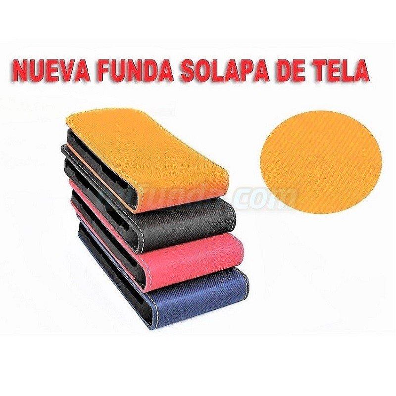 ⭐PARA SAMSUNG GALAXY MINI 2 S6500 FUNDA DE TAPA VERTICAL CON ACABADO TEXTIL 1