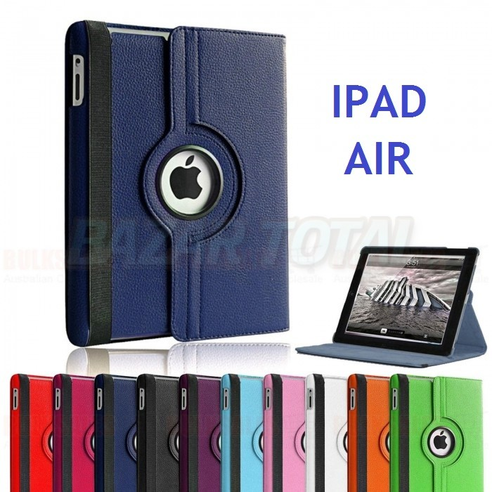 💥IPAD AIR FUNDA CON TAPA Y STAND GIRATORIA 360º 1