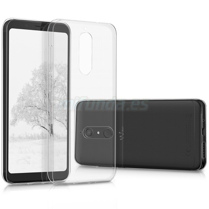 💥WIKO VIEW XL FUNDA CARCASA TRANSPARENTE DE GEL TPU 1