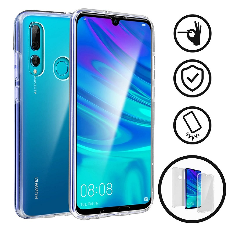 💥HUAWEI P SMART PLUS (2019) FUNDA CARCASA DOBLE TRANSPARENTE CON PROTECCION TOTAL 360º 1