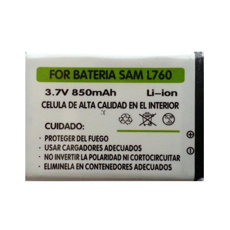 ✔BATERIA AB553443BE PARA SAMSUNG L760 L768 Z150 DE 850 mAh 1