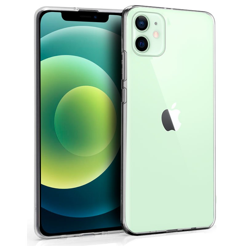 💥IPHONE 12 / 12 PRO FUNDA CARCASA TRANSPARENTE DE GEL TPU 1