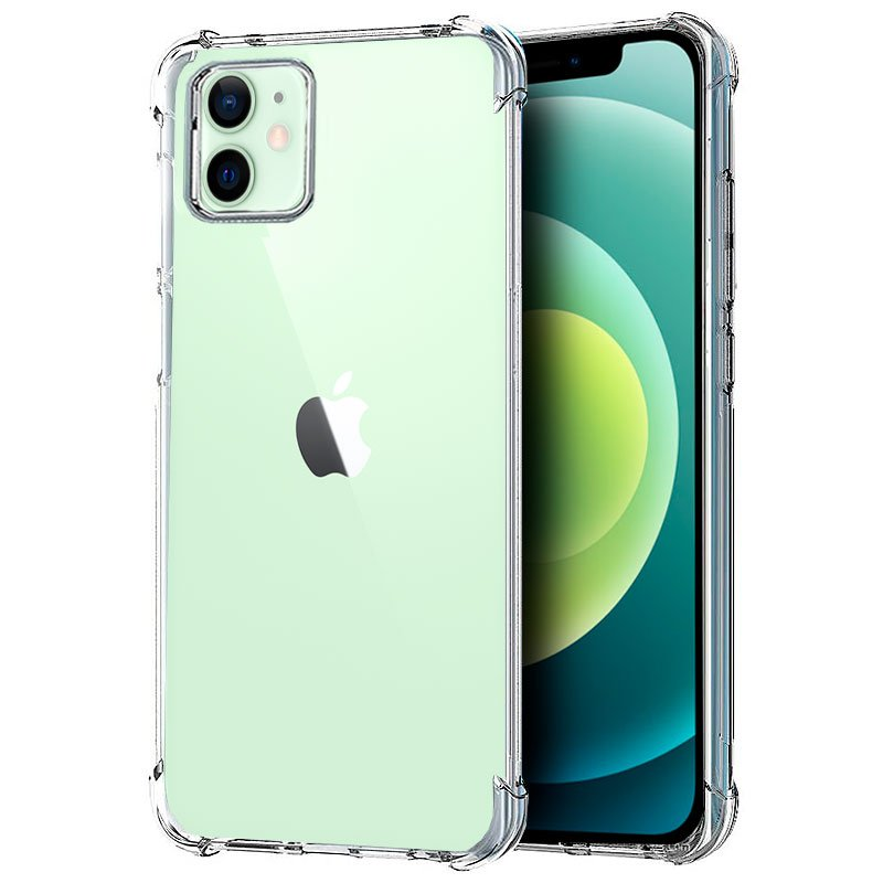 💥IPHONE 12 / 12 PRO FUNDA CARCASA ANTISHOCK TRANSPARENTE 1