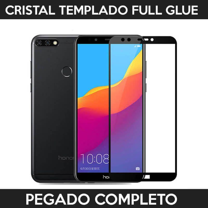 ✅HUAWEI Y7 2018 / HONOR 7C PROTECTOR DE PANTALLA DE CRISTAL TEMPLADO FULL GLUE 11D 1