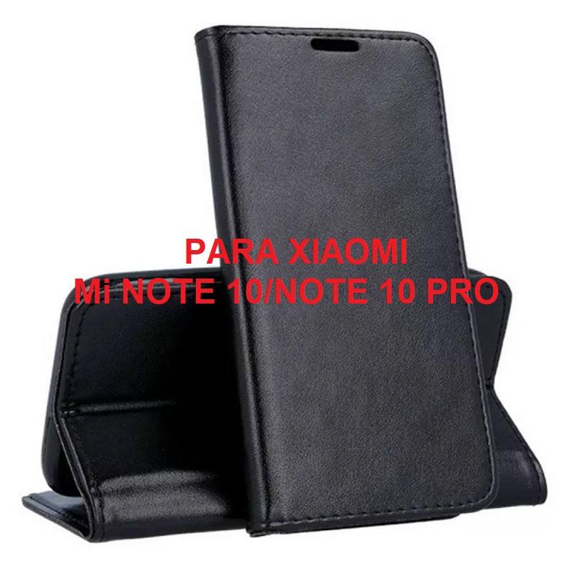 ✅XIAOMI MI NOTE 10/NOTE 10 PRO FUNDA DE TAPA SMART MAGNETIC NEGRA 1